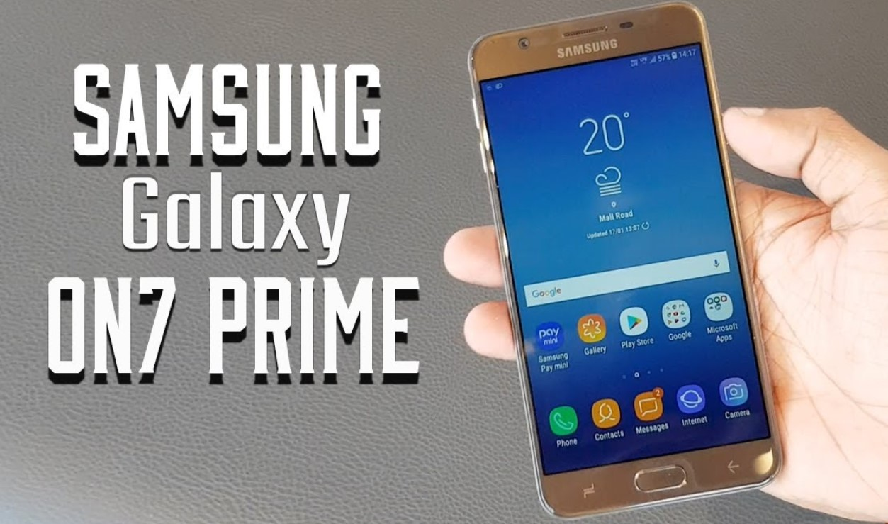 Samsung Galaxy On7 Prime with Samsung Pay Mini launched