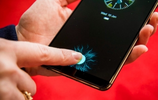 in-screen fingerprint scanner phone