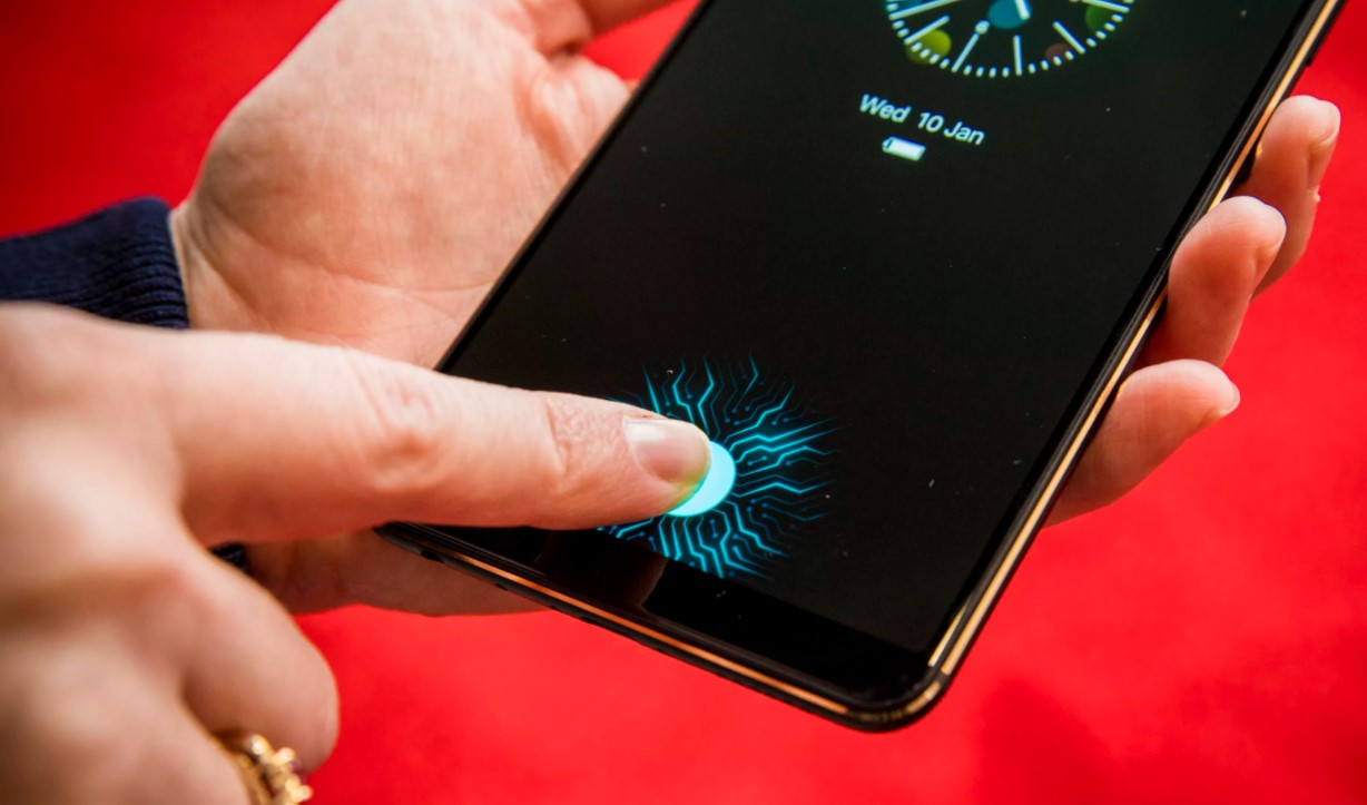 The First In-Screen Fingerprint Scanner Phone