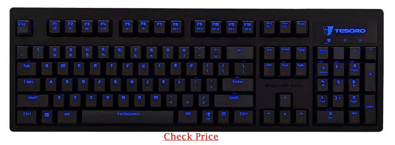 tesoro excalibur g7nl mechanical gaming keyboard