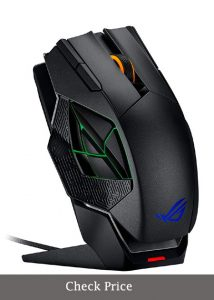 ASUS ROG Spatha RGB Wireless/Wired Laser Gaming Mouse (ROG Spatha Gaming Mouse price