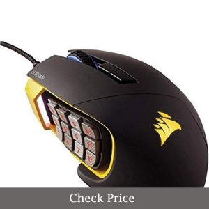 corsair scimitar rgb optical moba/mmo gaming mouse review